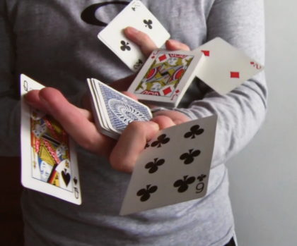 comprehensions are like card tricks
